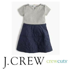 J. CREW Crewcuts Girls' puffer skirt dress Sz. 8
